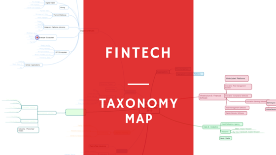 Fintech Taxonomy Map