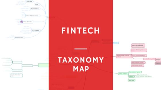Fintech Taxonomy Map